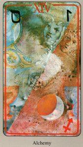14 Алхимия The Haindl Tarot