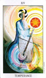 14 Аркан Умеренность Tarot of the Spirit