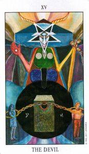 15 Аркан Дьявол Tarot of the Spirit