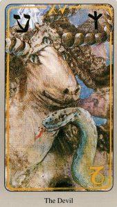 15 Дьявол The Haindl Tarot