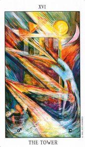 16 Аркан Башня Tarot of the Spirit
