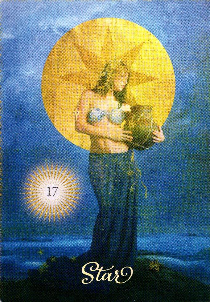 17 Звезда The Good Tarot