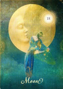 18 Луна The Good Tarot