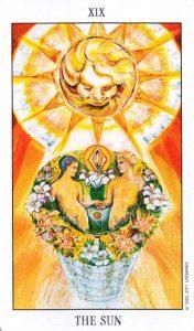 19 Аркан Солнце Tarot of the Spirit
