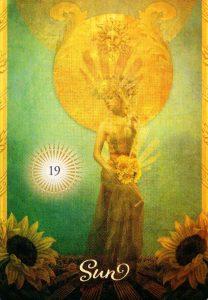19 Солнце The Good Tarot