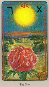 19 Солнце The Haindl Tarot