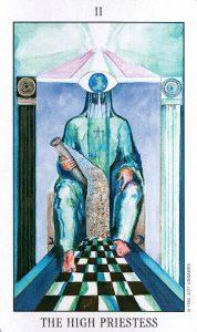 2 Аркан Верховная Жрица Tarot of the Spirit
