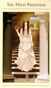 2 Верховная Жрица The New Mythic Tarot