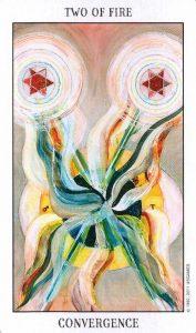 2 Огня Tarot of the Spirit