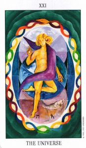 21 Аркан Вселенная Tarot of the Spirit