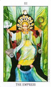 3 Аркан Императрица Tarot of the Spirit