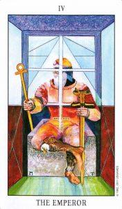 4 Аркан Император Tarot of the Spirit