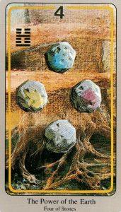 4 Камней The Haindl Tarot