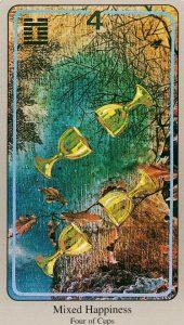 4 Кубков The Haindl Tarot