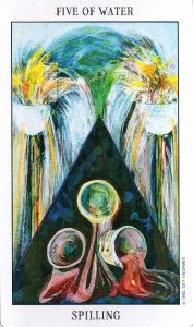 5 Воды Tarot of the Spirit