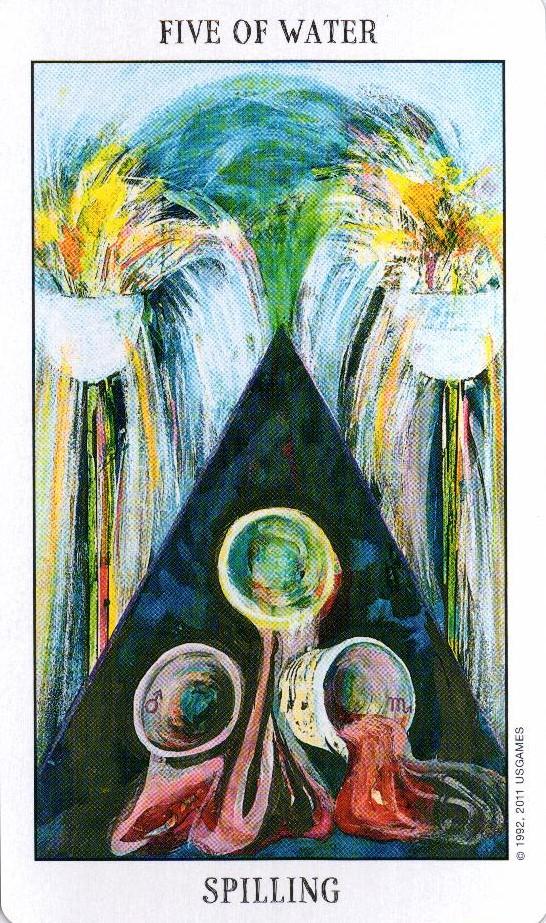 5 Воды Tarot of the Spirit