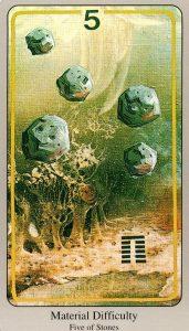 5 Камней The Haindl Tarot