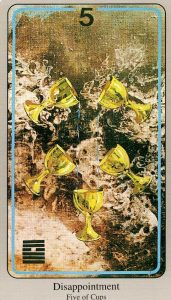 5 Кубков The Haindl Tarot