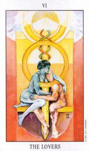 6 Аркан Влюбленные Tarot of the Spirit