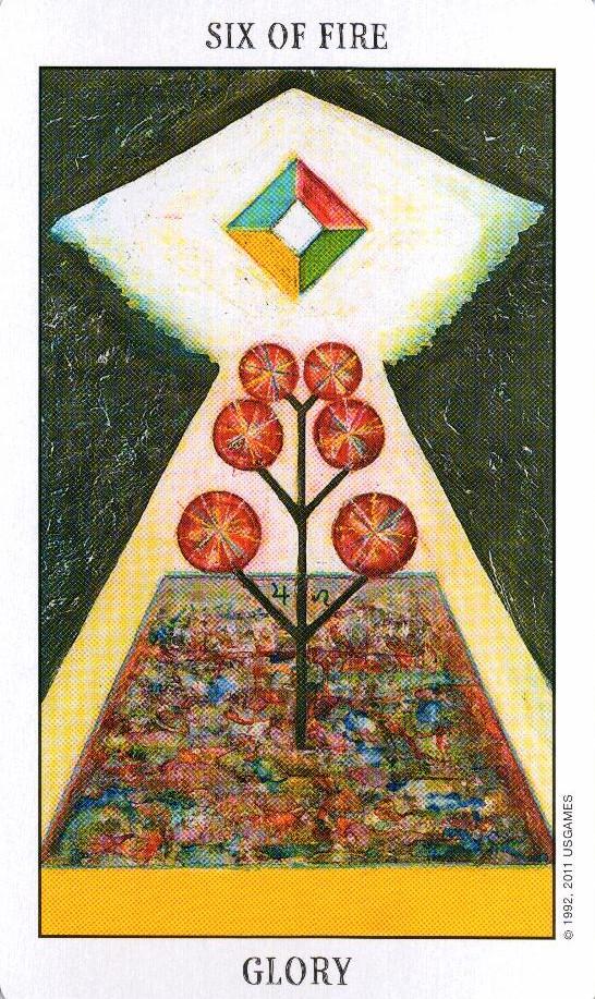 6 Огня Tarot of the Spirit