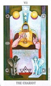 7 Аркан Колесница Tarot of the Spirit