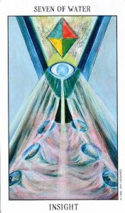 7 Воды Tarot of the Spirit
