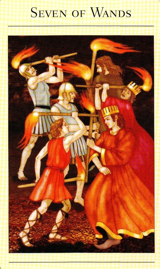 7 Жезлов The New Mythic Tarot