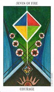 7 Огня Tarot of the Spirit