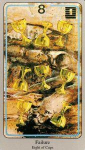 8 Кубков The Haindl Tarot