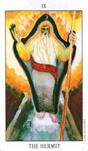 9 Аркан Отшельник Tarot of the Spirit
