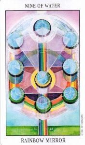 9 Воды Tarot of the Spirit