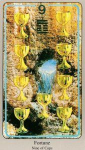 9 Кубков The Haindl Tarot