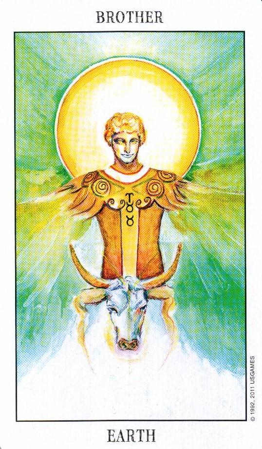 Брат Земли Tarot of the Spirit