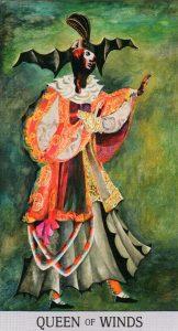 Королева Ветров Japaridze Tarot (Таро Нино Джапаридзе)