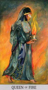 Королева Огня Japaridze Tarot