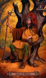 Король Жезлов Modern Spellcaster's Tarot