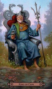 Король Кубков Modern Spellcaster's Tarot
