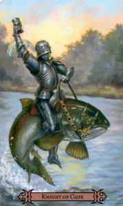 Рыцарь Кубков Modern Spellcaster's Tarot