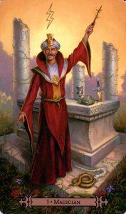 1 Аркан Маг Modern Spellcaster's Tarot