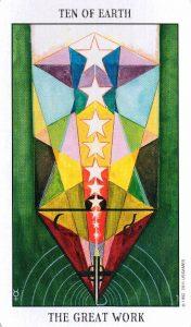 10 Земли Tarot of the Spirit