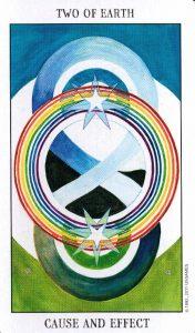 2 Земли Tarot of the Spirit