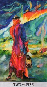 2 Огня Japaridze Tarot