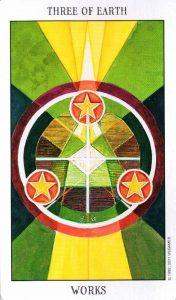 3 Земли Tarot of the Spirit