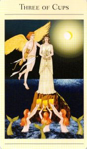 3 Кубков The New Mythic Tarot