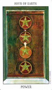 4 Земли Tarot of the Spirit