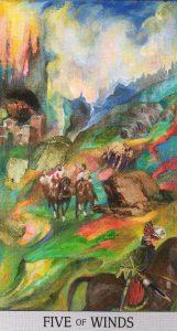5 Ветров Japaridze Tarot (Таро Нино Джапаридзе)