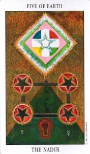 5 Земли Tarot of the Spirit