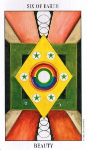 6 Земли Tarot of the Spirit