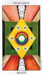 6 Земли Tarot of the Spirit