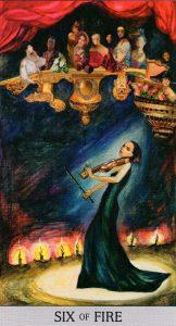 6 Огня Japaridze Tarot